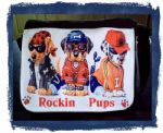 Rockin Pups Personalised Shoulder Bag